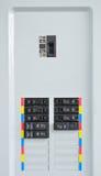 kontrollera elektriska paneler fotografering för bildbyråer