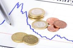 Kontrollera finanser Fotografering för Bildbyråer