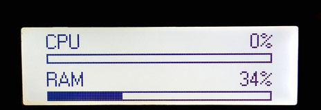 kontrollera kapaciteten Arkivbilder