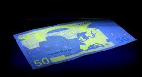 kontrollera pengar Royaltyfri Fotografi