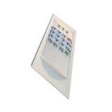 kontrollera plastic säkerhetssäkerhet för den gråa home panelen Royaltyfria Bilder
