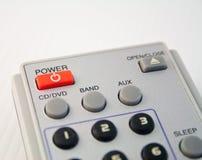 kontrollera remoten Arkivfoto