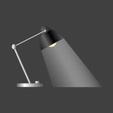 kontrollera skrivbordbildlampan min annan liknande portfölj Royaltyfri Bild