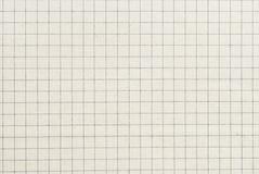 Kontrollerad gammal pappers- bakgrund eller textur Royaltyfri Fotografi