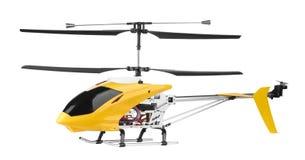 kontrollerad helikoptermodellradio Fotografering för Bildbyråer