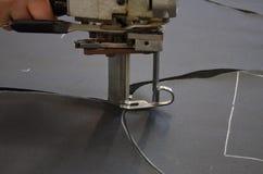 Kontrollerad operatör klippa system fotografering för bildbyråer