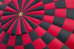 Kontrolleur-Brett auf einem Heißluft-Ballon lizenzfreie stockfotos