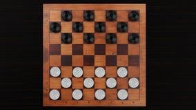 Kontrolleur-Spiel-hölzernes Brett stock abbildung