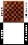 Kontrolleur-Spiel-Material lizenzfreie abbildung