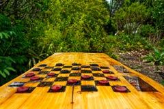 Kontrolleure in der Perspektivenansicht in einen Garten Lizenzfreies Stockfoto
