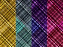 Kontrolls bakgrund för torkduk för designskjorta Arkivbilder