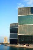 Kontrolltürme auf Lagune Lizenzfreie Stockfotografie