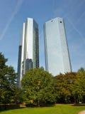 Kontrolltürme in Ftrankfurt, Deutschland Stockfotos