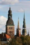 Kontrolltürme von Riga Stockfotografie