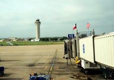 Kontrolltorn - Austin flygplats Arkivfoton