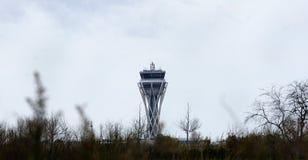 Kontrolltorn av flygplatsen Royaltyfri Fotografi