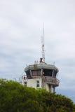 Kontrolltorn i en liten flygplats Royaltyfria Foton