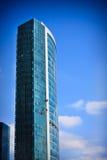 Kontrollturm über Himmel Lizenzfreie Stockfotos