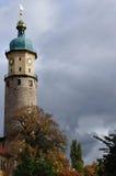 Kontrollturm in Arnstadt Lizenzfreies Stockfoto
