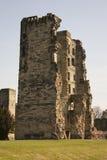 Kontrollturm Ashbyde la Zouch Castle Stockbild