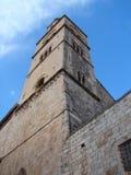 Kontrollturm auf Dubrovnik lizenzfreies stockbild