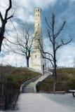 Kontrollturm auf einem Hügel Lizenzfreies Stockfoto