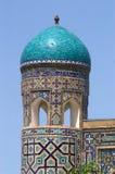Kontrollturm auf madrasah Stockfotos