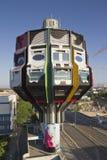 Kontrollturm bierpinsel Berlin lizenzfreies stockbild