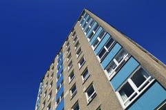 Kontrollturm-Block von den siebziger Jahren Lizenzfreies Stockfoto