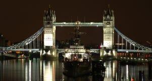 Kontrollturm-Brücke Lizenzfreie Stockbilder