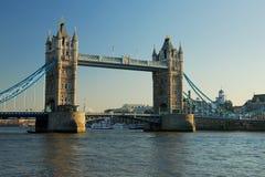 Kontrollturm-Brücke in der London-Stadt Lizenzfreies Stockbild