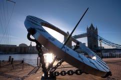 Kontrollturm-Brücke, London Lizenzfreies Stockfoto