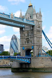 Kontrollturm-Brücke, London Lizenzfreie Stockfotos
