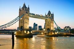 Kontrollturm-Brücke, London Lizenzfreies Stockbild