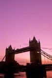 Kontrollturm Brücke-London Lizenzfreie Stockfotografie