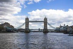 Kontrollturm-Brücke London Lizenzfreie Stockfotos