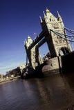 Kontrollturm-Brücke London, England Lizenzfreie Stockbilder