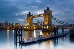 Kontrollturm-Brücke - London, England Lizenzfreie Stockfotografie