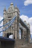 Kontrollturm-Brücke. London. England stockfotos