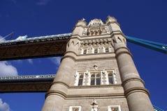 Kontrollturm-Brücke, London, England Lizenzfreies Stockbild