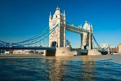 Kontrollturm-Brücke, London, Großbritannien Stockfoto