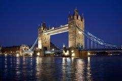 Kontrollturm-Brücke - London - Großbritannien Lizenzfreies Stockfoto