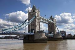 Kontrollturm-Brücke in London, Großbritannien Stockbild