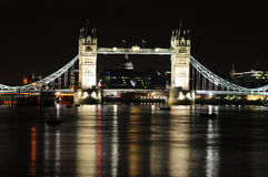 Kontrollturm-Brücke, London, Großbritannien Lizenzfreie Stockfotografie