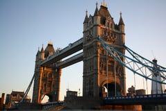 Kontrollturm-Brücke, London, Vereinigtes Königreich Stockfotografie