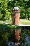 Kontrollturm-Brücke in Pushkin Lizenzfreies Stockfoto