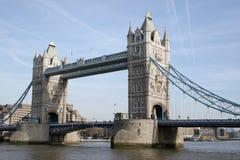 Kontrollturm-Brücke und die Stadt von London Lizenzfreies Stockbild