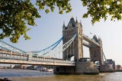 Kontrollturm-Brücke von London Lizenzfreie Stockfotografie