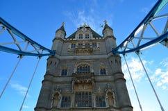 Kontrollturm-Brücke in London, Großbritannien Lizenzfreies Stockbild