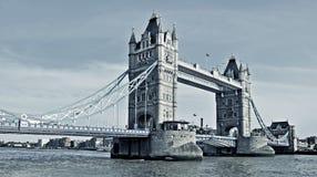 Kontrollturm-Brücke in London, Vereinigtes Königreich Lizenzfreie Stockbilder